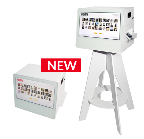 Connected and interactive Photo Booth, photo printer