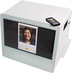 Rent our Selfie Print, photo printer, connected and interactive photocall in Paris Lyon Cannes Deauville