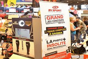Animation photobooth sur stand de salon